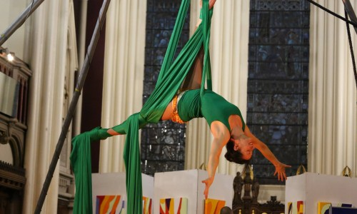 Intermediate and Improvers Aerial with HANG (Second half term)