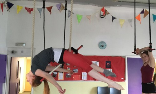 Absolute Beginners Aerial with Jane D (First half term)