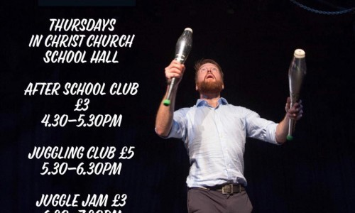 Juggling Club with Will