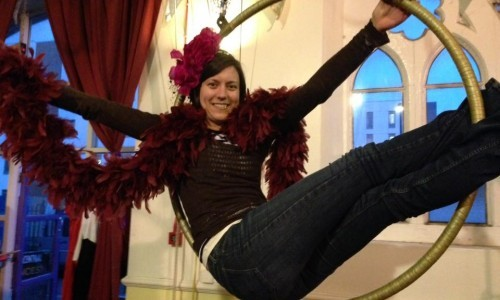 Absolute Beginners Aerial with Jane D (Second half term)