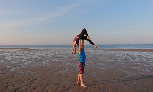 Partner Acrobatics with Gaz and Jessi (Second half term)