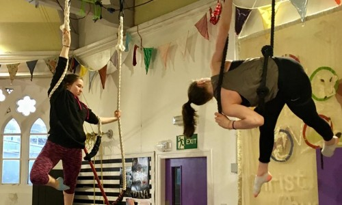 Beginners Aerial - Tuesdays (Second half term)